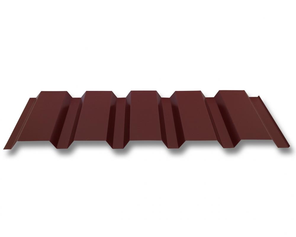 Beschichtung 25 /µm Dachblech Profilblech Farbe Rotbraun St/ärke 0,40 mm Trapezblech Profil PS20//1100TR Material Stahl