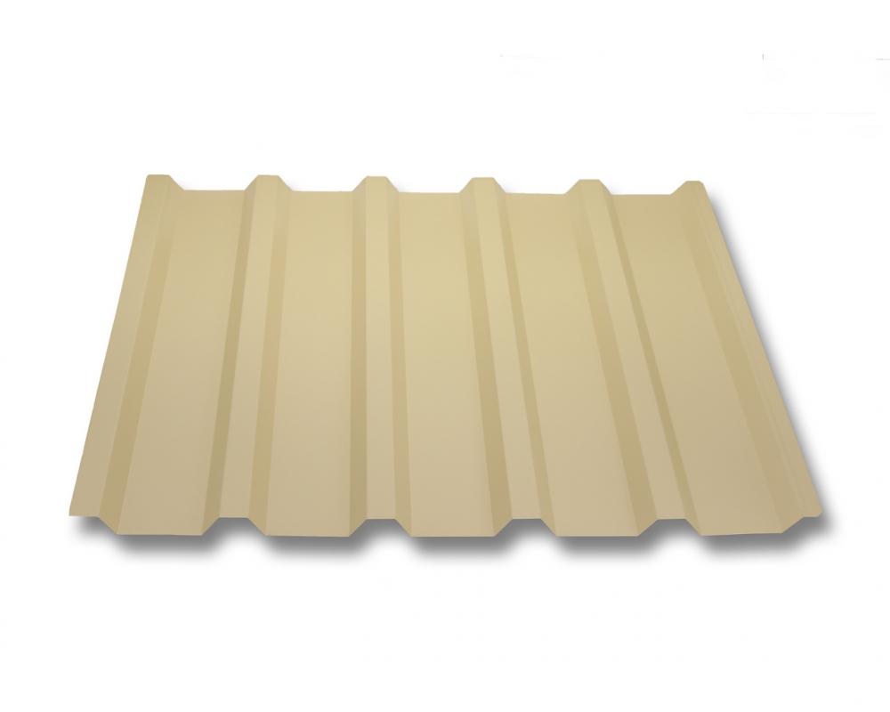 Wandblech Profilblech Farbe Hellelfenbein Material Stahl Profil PS18//1064CW Wellblech St/ärke 0,50 mm Beschichtung 25 /µm