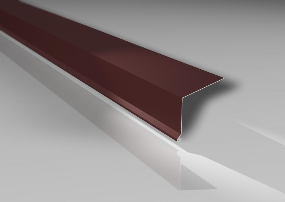 Material Stahl Farbe Rotbraun Profil PS35//1035TR Trapezblech Profilblech St/ärke 0,63 mm Beschichtung 25 /µm Dachblech