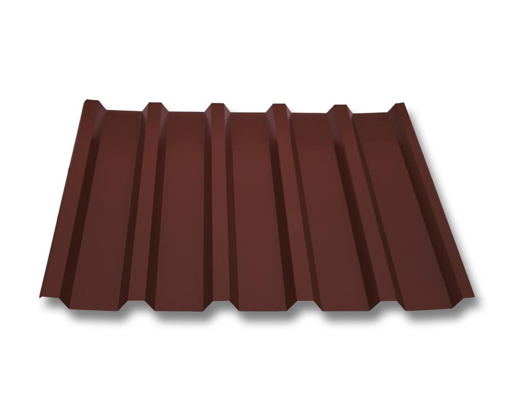 St/ärke 0,50 mm Profil PS35//1035TRA Beschichtung 80 /µm Profilblech Material Stahl Dachblech Farbe Oxidrot Trapezblech