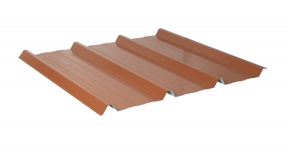 Farbe Kupferbraun Trapezblech Material Stahl Dachblech Profil PS35//1035TR St/ärke 0,50 mm Beschichtung 25 /µm Profilblech
