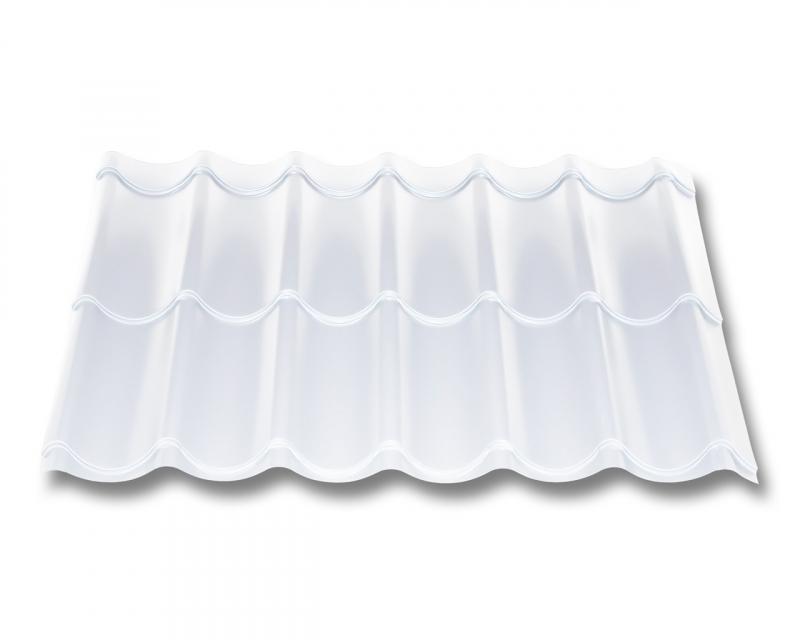 Pfannenblech Beschichtung 25 /µm Profil PS47//1060RT Dachziegelblech Material Stahl Farbe Laubgr/ün St/ärke 0,50 mm Ziegelblech