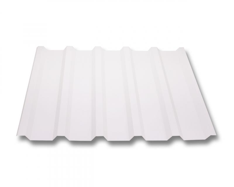 trapezblech w35 207 stahl 0 5mm erh ltlich als dachblech dachblech mit antitropf und wandblech. Black Bedroom Furniture Sets. Home Design Ideas