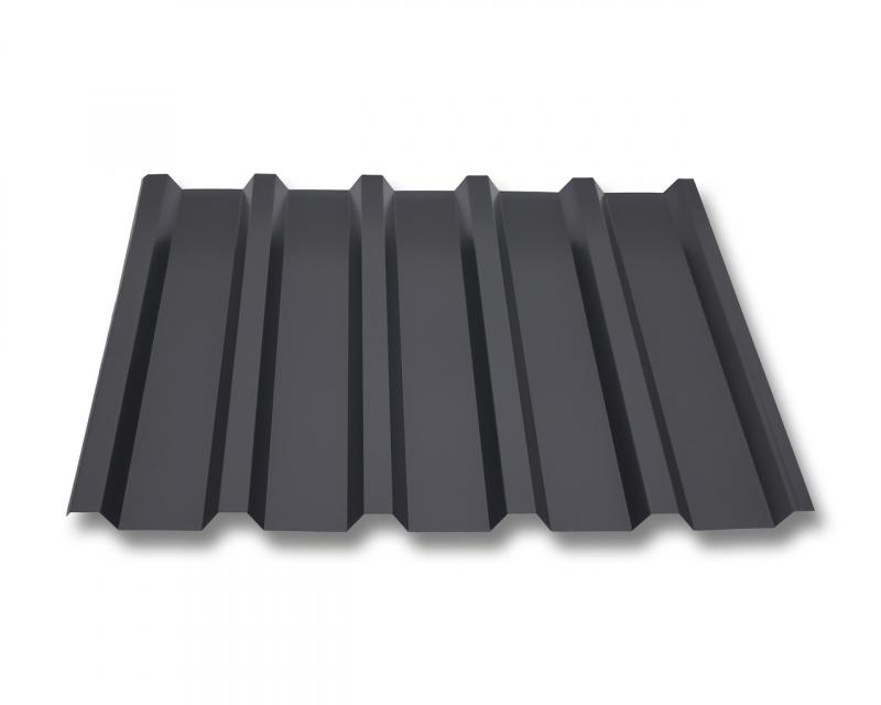 Profil PS18//1064CR Dachblech Wellblech Material Stahl St/ärke 0,75 mm Profilblech Farbe Anthrazitgrau Beschichtung 25 /µm