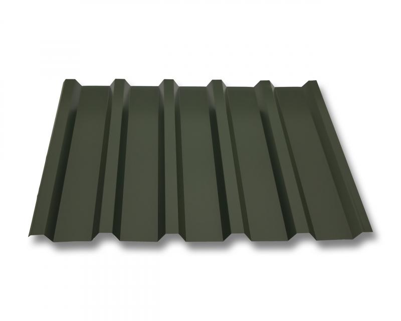 trapezblech w35 207 stahl 0 75mm erh ltlich als dachblech dachblech mit antitropf und wandblech. Black Bedroom Furniture Sets. Home Design Ideas