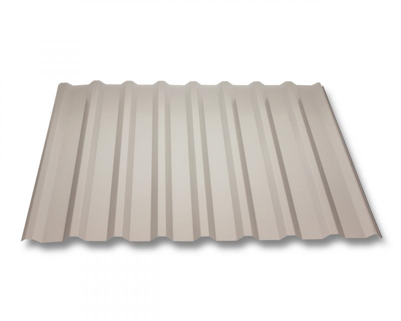 trapezblech w20 1100 stahl 0 75mm erh ltlich als dachblech dachblech mit antitropf und wandblech. Black Bedroom Furniture Sets. Home Design Ideas