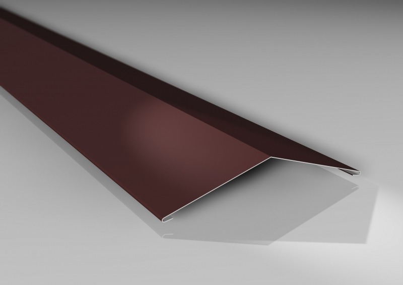 Material Aluminium Profilblech St/ärke 0,70 mm Dachblech Farbe Rotbraun Wellblech Beschichtung 25 /µm Profil PA18//1064CR