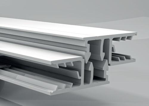 Top Verlegeprofile für Doppelstegplatten aus Polycarbonat und Acrylglas XY86