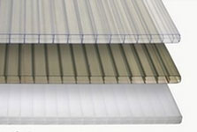 Stegplatten Hohlkammerplatten Aus Polycarbonat Oder Acryl