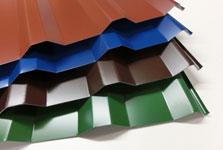trapezbleche f r dach und wand g nstig online kaufen. Black Bedroom Furniture Sets. Home Design Ideas
