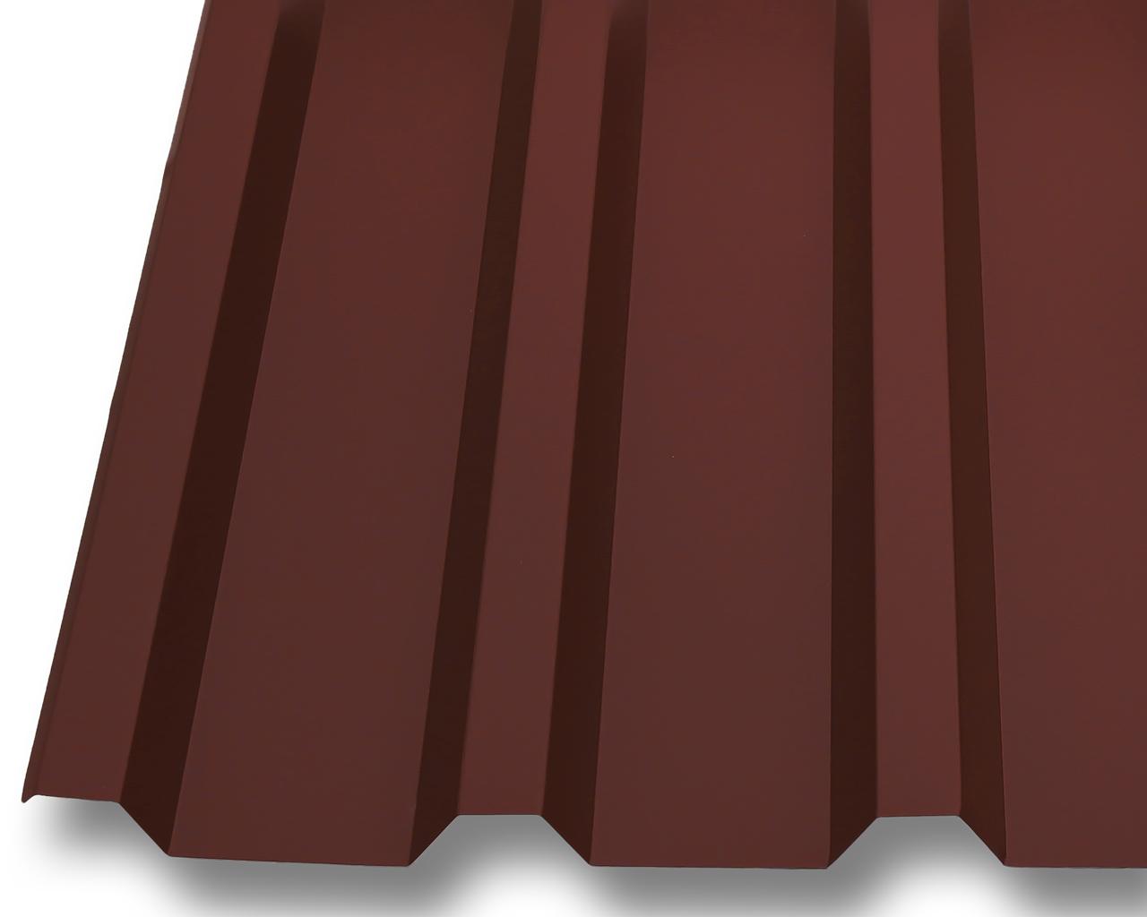 profilblech trapezblech dachplatten wellblech stahl neu 0 5mm dach 25 m rot ebay. Black Bedroom Furniture Sets. Home Design Ideas