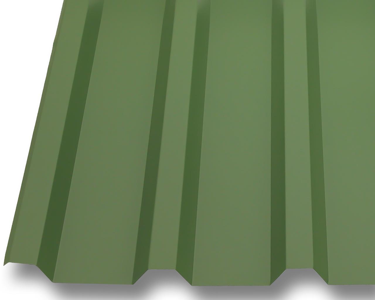 profilblech trapezblech dachplatten wellblech stahl neu 0 5mm dach 25 m gr n ebay. Black Bedroom Furniture Sets. Home Design Ideas