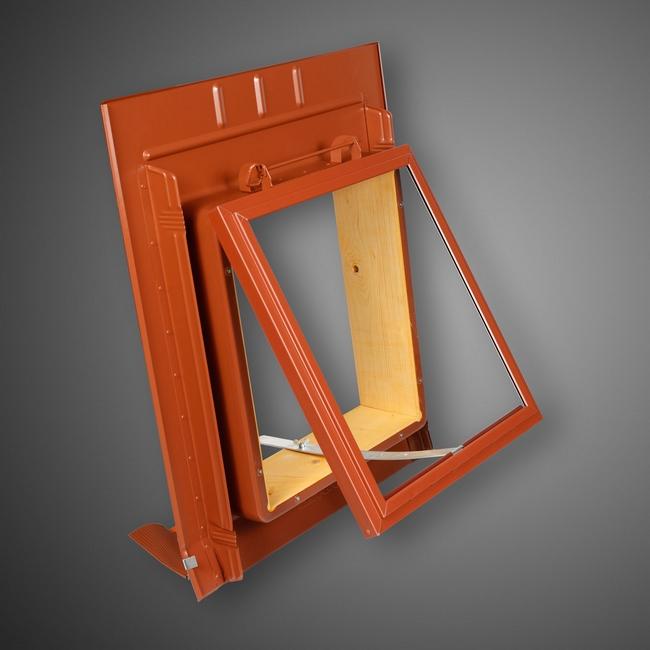 dachfenster mit metalleindeckrahmen trapezbleche. Black Bedroom Furniture Sets. Home Design Ideas
