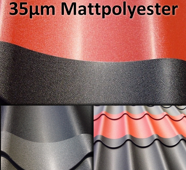 35µm Mattpolyester