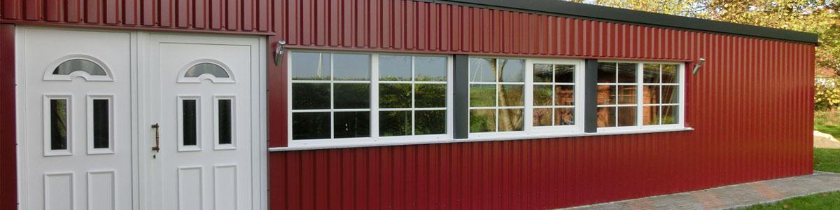 Berühmt Trapezbleche für Dach und Wand günstig online kaufen OM89
