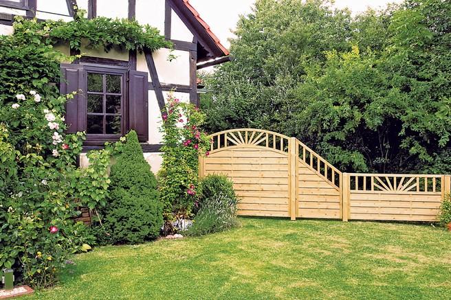 ... 102 Ideen für Gartengestaltung ~ 15193220170314_Sichtschutz Zaun Grun